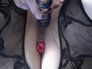 Dildofick mit Butt Plug