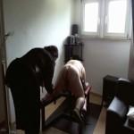 Wehrlos auf der Sklavenliege