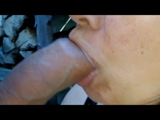 Nahaufnahme Tawny Jewell blowjob