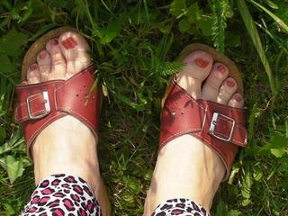 Outdoor Füße