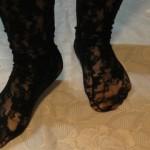 Sexynylon Füße