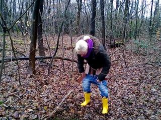 Unschuldig in den Wald gepisst