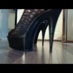 Das klackern meiner High-Heels