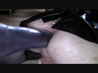 Anal- Fuß in den Arsch